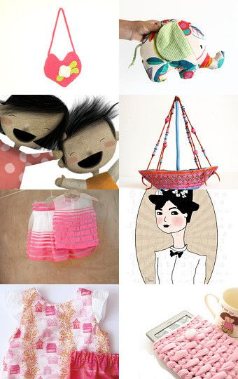 pink for kids summer by Gabriella on Etsy--Pinned with TreasuryPin.com