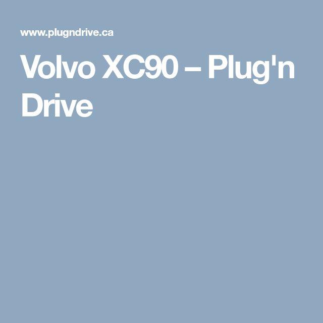 Volvo XC90 – Plug'n Drive