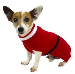 Christmas Sweaters for Dogs ... Practical or Pretentious? Vote Now at  http://chezchazz.hubpages.com/hub/christmas-sweaters-and-hoodies-for-dogs