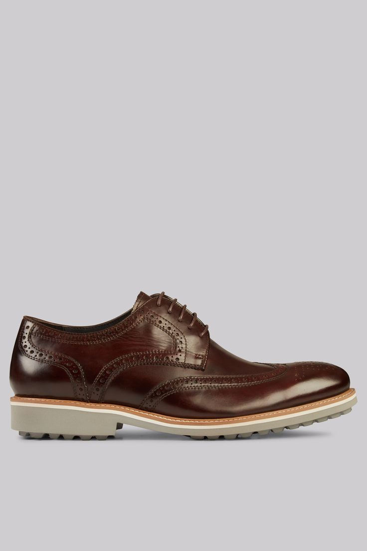 John White Belton Lightweight Brown Brogues Vintage shoes for the modern man. No gent™s shoe collection is complete without a go-to pair of classic brogues. These ones by John White feature a bold sole designed for both grip and rugged style. M http://www.MightGet.com/march-2017-1/john-white-belton-lightweight-brown-brogues.asp