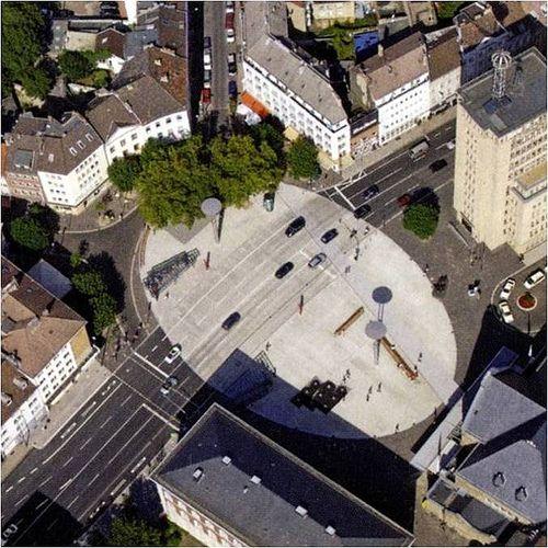 Plaza in Aachen Bahnhofplatz, Belgium with pedestrian crossing | Flickr - Photo Sharing!
