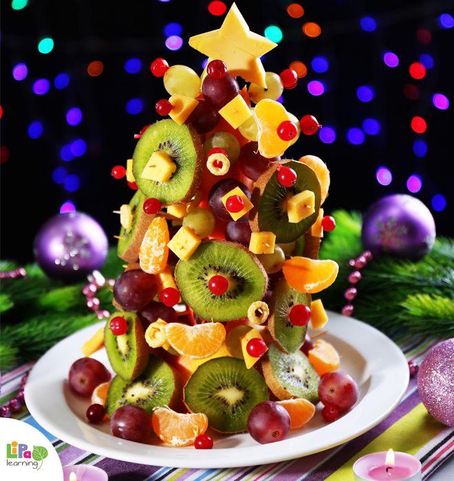 4 days to Christmas! How to make a fruit Christmas tree? Lipa knows!