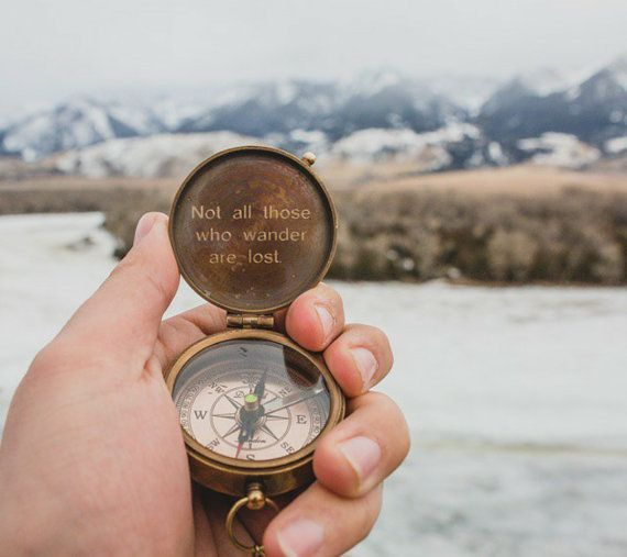 Personalized Engraved Compass, Working Compass, Compass, Fathers Day Gifts
