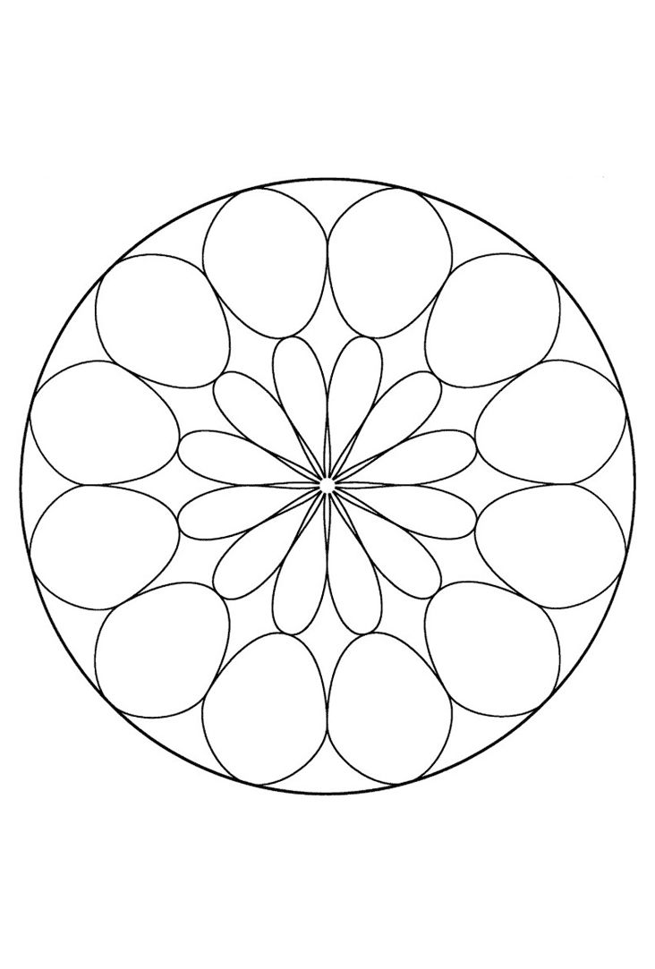 24 best mandalas images on pinterest drawings coloring