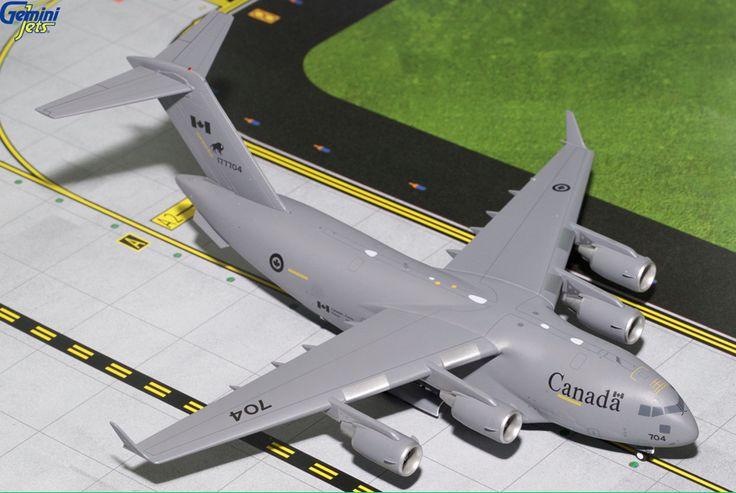 1/200 GeminiJets RCAF Boeing C-17 Globemaster III Diecast Model