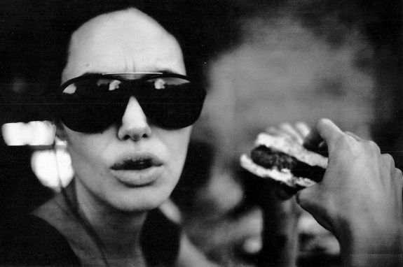 Angelina Jolie like you've never seen her before - shot by Brad Pitt himself on film