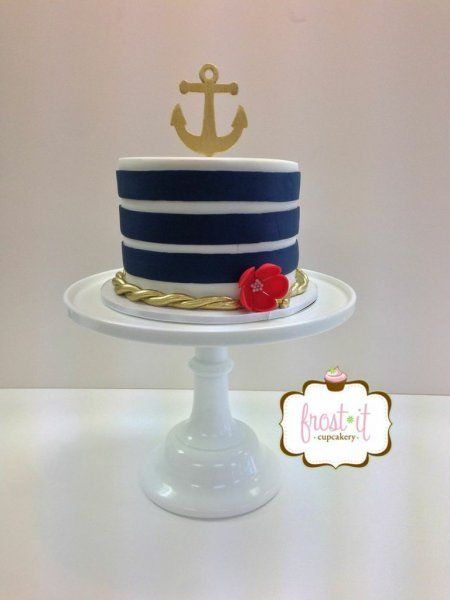 anchor themed wedding cakes 25 best ideas about nautical cake on sailor 10748