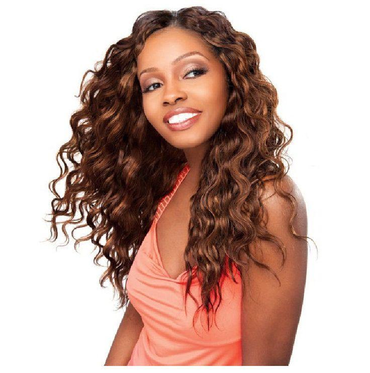 Sensationnel Human Hair (2) Weave Extensions Water Heat Wave New #Sensationnel #HairExtension