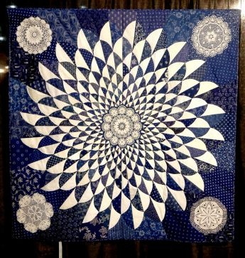 Love the flow of this one  Hungarian blue-dyed quilts keep tradition alive - Houston Chronicle