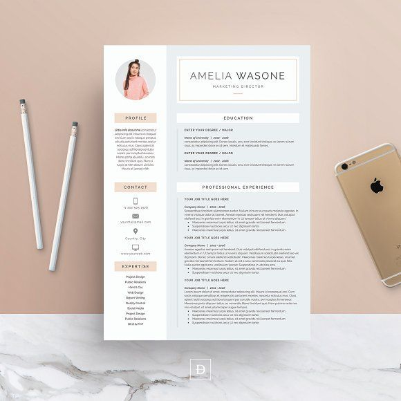 Word Resume & Cover Letter Template by DemeDev on @creativemarket  Downloading the file will allow access to your professionally designed, 2 page resume template + cover letter. The template can be easily customized to your liking and includes all necessary files for a quick set-up. Delete or add anything you desire in the document, change colors or simply keep the original design.  https://creativemarket.com/free-goods?u=Mack_Studio