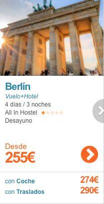 Puente de Mayo en Berlin desde 255€ Desayuno incluido