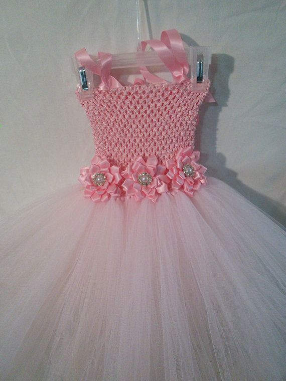 Little girls tutu dress от luvbug1217 на Etsy