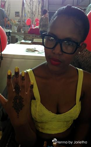 Henna by Jorietha  Services available for: Individual Appointments Corporate Events Birthday Parties Baby Showers Pregnant Bellies Weddings Bachelorette Parties Henna Crowns Special Occasions Festivals Matric Dance Facebook:www.facebook.com/hennabyjorietha Twitter:@HennabyJorietha  Website:www.jorietha.com  E-mail:henna@jorietha.com  Pinterest: hennabyjorietha  Instagram: hennabyjorietha