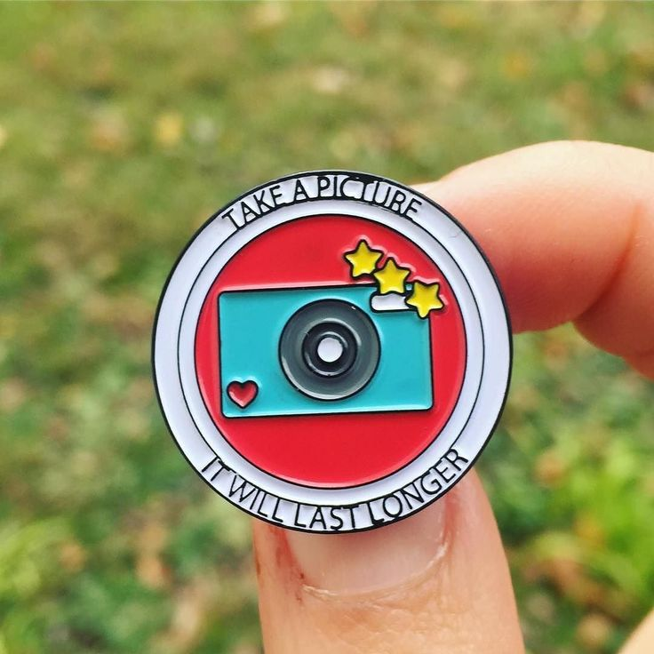 Take A Picture, It Will Last Longer || Patches & Pins ❤ www.swipenshop.nl ❤