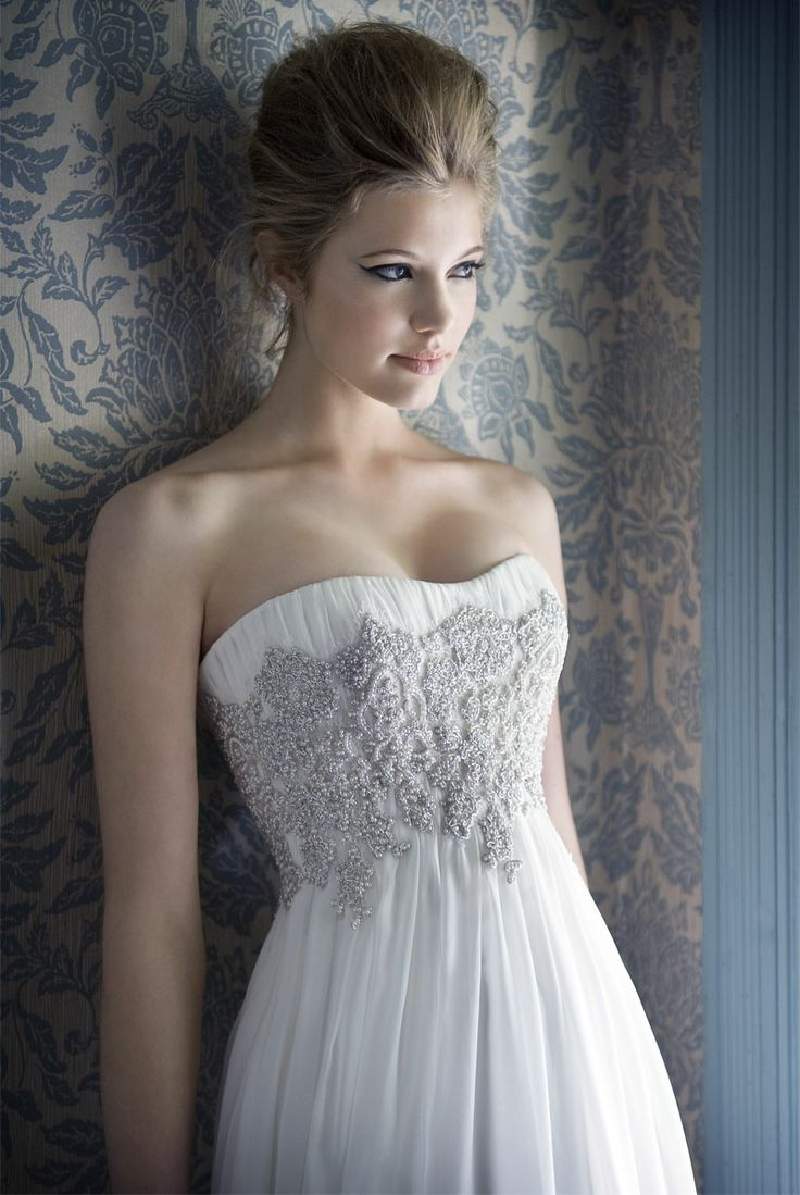 Silver Wedding Dress :: White Bridal Collection