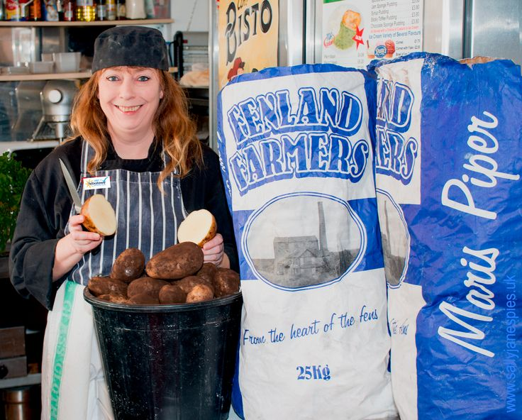 Maris Piper Potatoes from The Fenlands of England