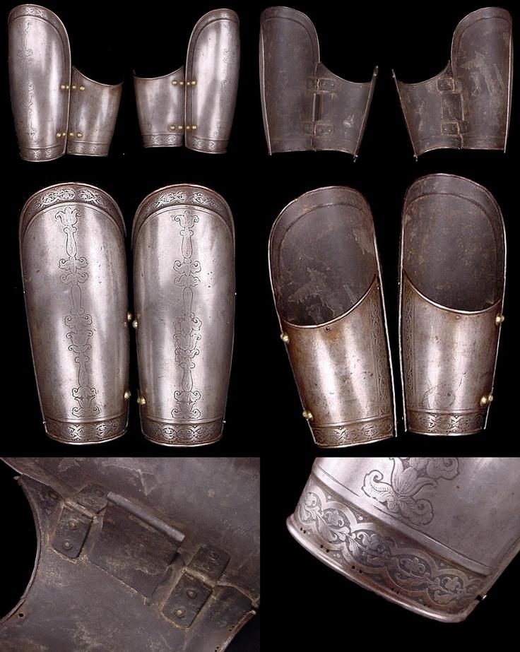 OTTOMAN / TURKISH BAZU BAND Armor, 18/19TH CENTURY, 10.34 in long.
