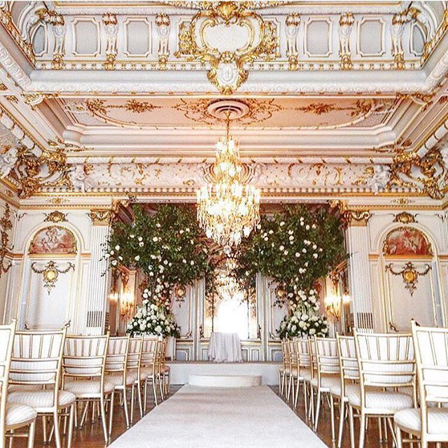 Can you imagine a more spectacular #wedding venue than the private Cosmos Club in #WashingtonDC? | WedLuxe Magazine