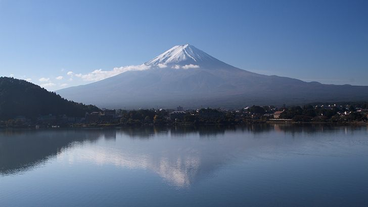 Fuji mountain  http://5kwallpapers.com/wall/fuji-mountain-2  #mountain #fuji #fujisan #japan #nature #beautiful