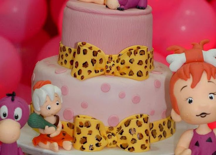 pebbles flintstone birthday party 19