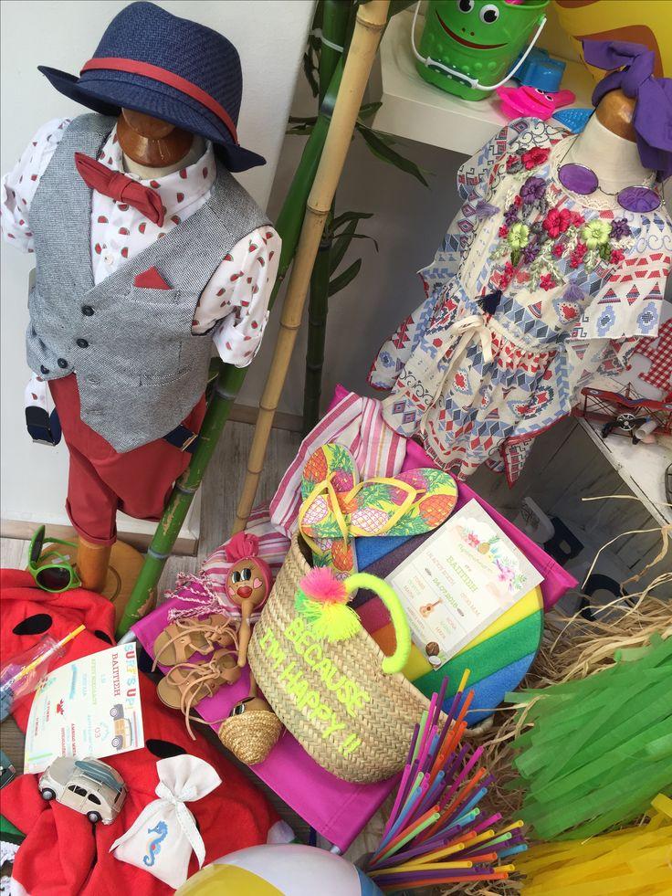 "Aloha!!! Nikolas Ker ""the store"" #aloha #summer #decoration #nikolas_ker #athens #greece #store #shop #vaftisi #vaptisi #baptism #nea_ionia #clothes #boy #girl"