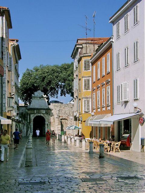 Zadar, Croatia.love the way the streets look polished