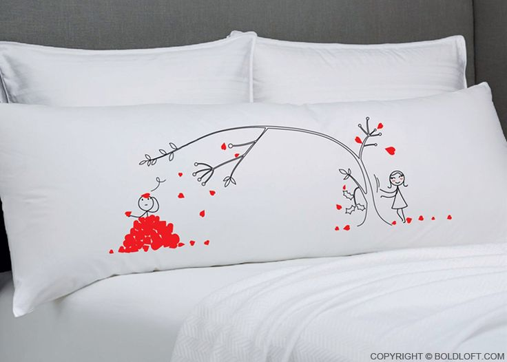 With this enamoring body pillowcase, remind your beloved each night that my love…