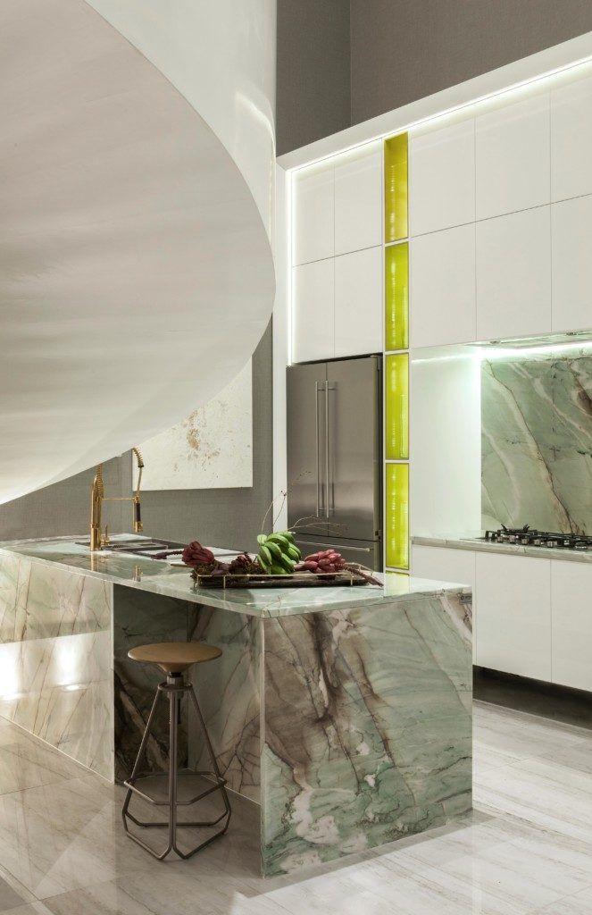 Aria Stone Gallery Cristallo Tiffany Quartzite Kitchen Countertops Types Of