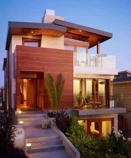 Contoh Rumah Tingkat Minimalis | Desain, Denah, Gambar Rumah Minimalis Modern http://www.wikirumah.com/
