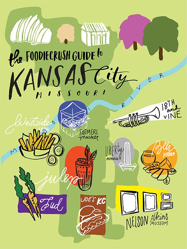 Food Bloggers' Guide of Where to Eat in Kansas City, MO | @foodiecrush foodiecrush.com