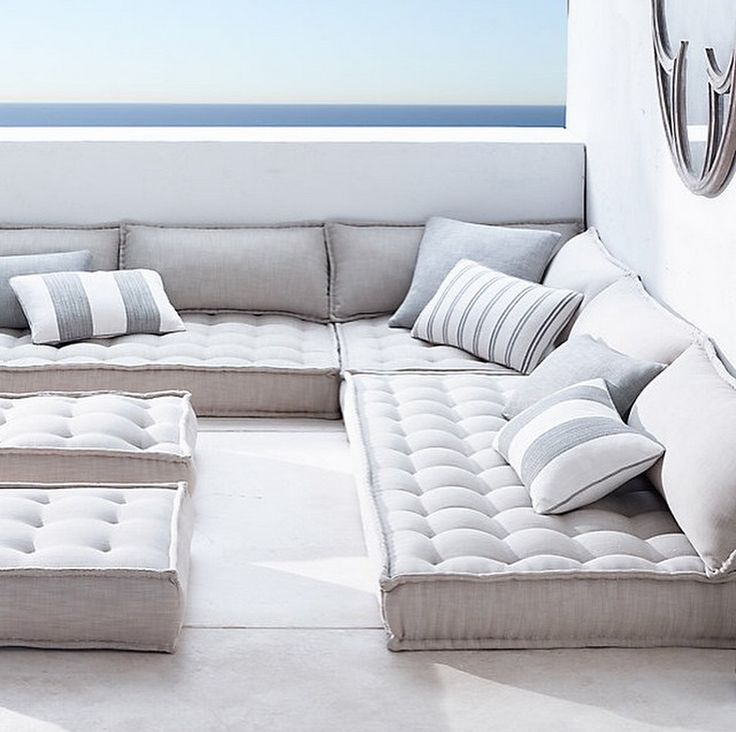 this is exactly how i want my furniture to be! only maybe a little color in the pillows