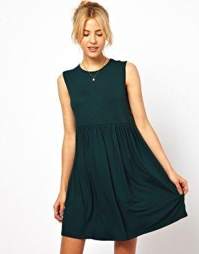 ASOS Sleeveless Smock Dress