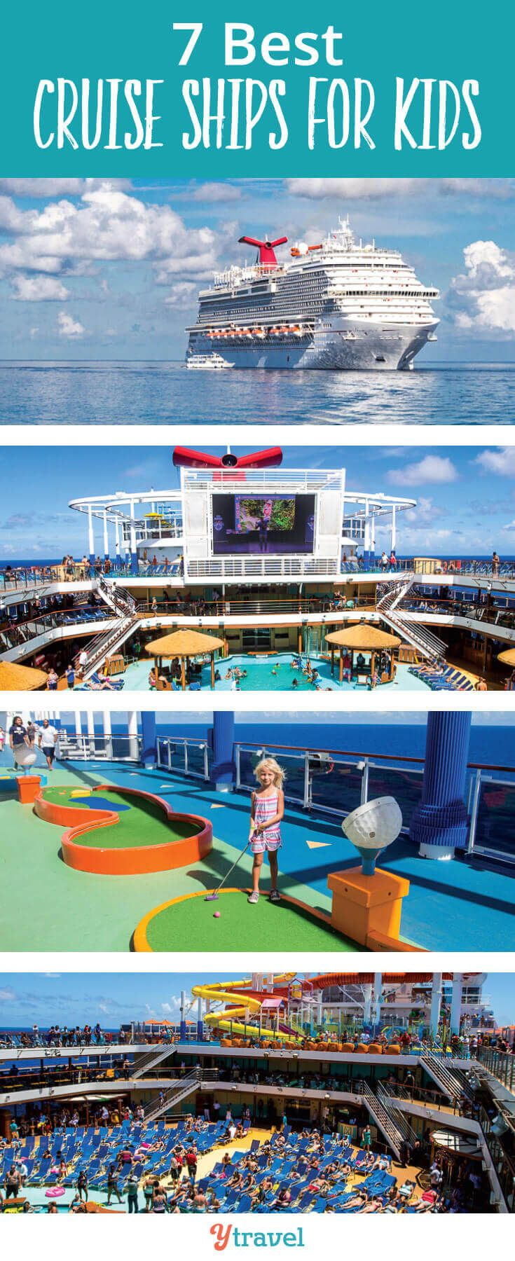 7 Best Cruise Ships for Kids | Family Travel | Best cruise