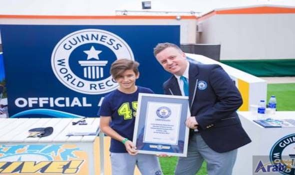 Dubai expats set two new Guinness records