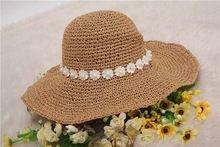 El yapımı kafa- dişli rafya hasır şapka moda rafya tığ