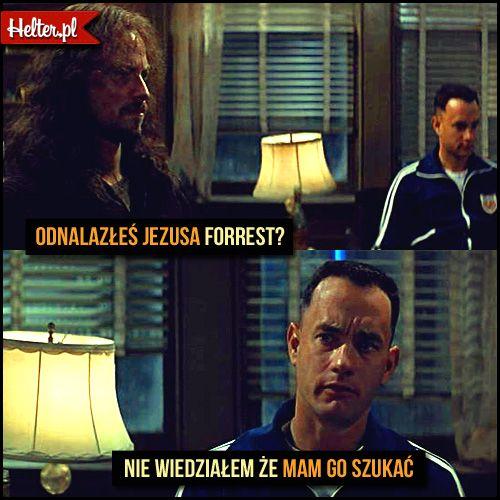#forrestgump #jezus #wiara #śmieszne #cytaty #film #kino #cytatyfilmowe #popolsku #helter #polskie