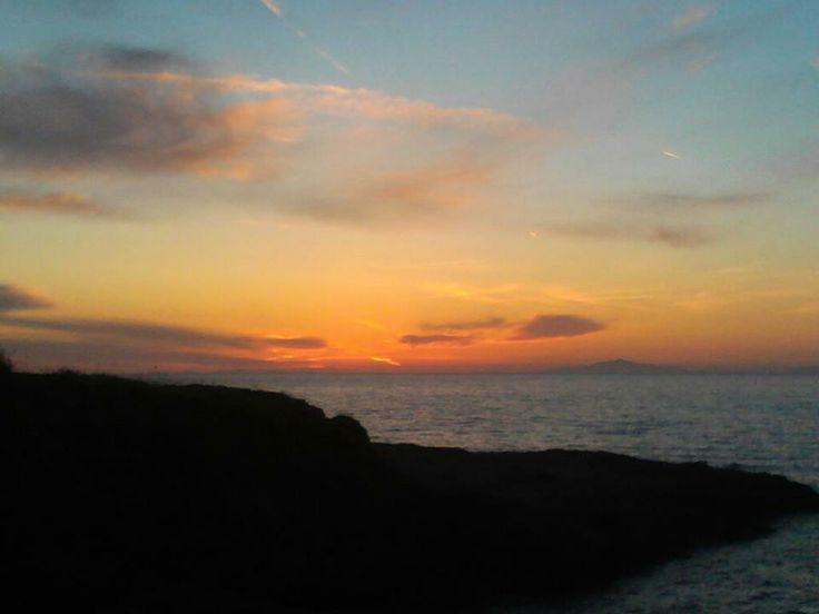 isola del giglio - sunset