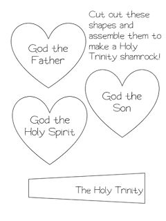 Free Holy Trinity Worksheet for Grades Kindergarten, 1, 2, and 3! From Little Miss Catechist