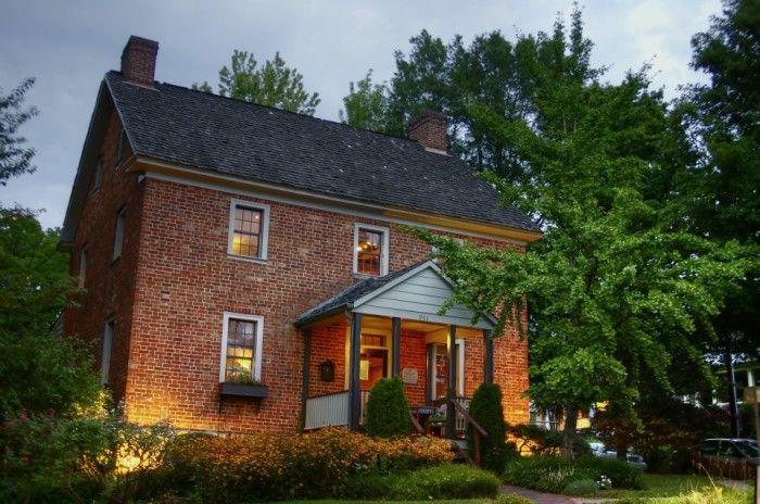 Bernardin's Restaurant at the Zevely House, Winston-Salem, North Carolina