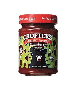 Best strawberry jam ever and it's organic!