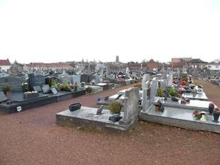 BÉTHUNE (62) : cimetière nord