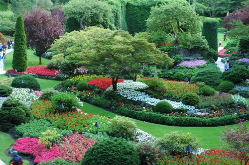 14 best places of interest canada images on pinterest - Best time to visit butchart gardens ...