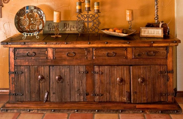 Mexican Credenza From Rios Fort Worth For The Ranch