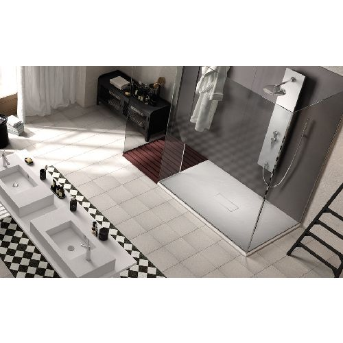 8 best receveurs de douche ultra plats images on pinterest dish showers and net shopping. Black Bedroom Furniture Sets. Home Design Ideas