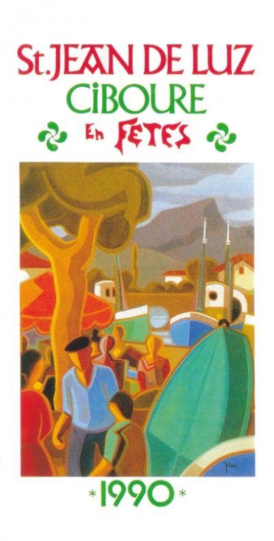 Fêtes St Jean de Luz  Ciboure 1990 by Pier