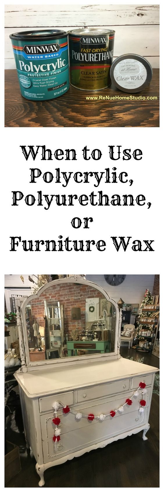 Minwax super fast drying polyurethane - When Is The Best Time To Use Polycrylic Polyurethane Or Furniture Wax On Your Diy