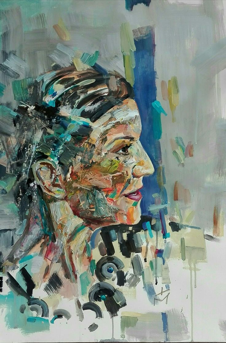 Abstract portrait by tasos bousdoukos
