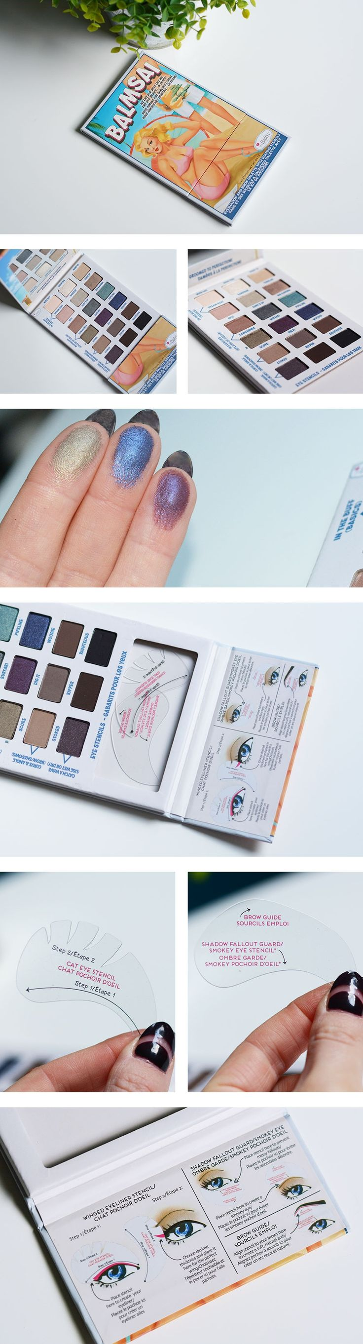61 best the balm cosmetics images on pinterest beauty products balmsai by the balm has a cat eyes stencil geenschuldenfo Image collections