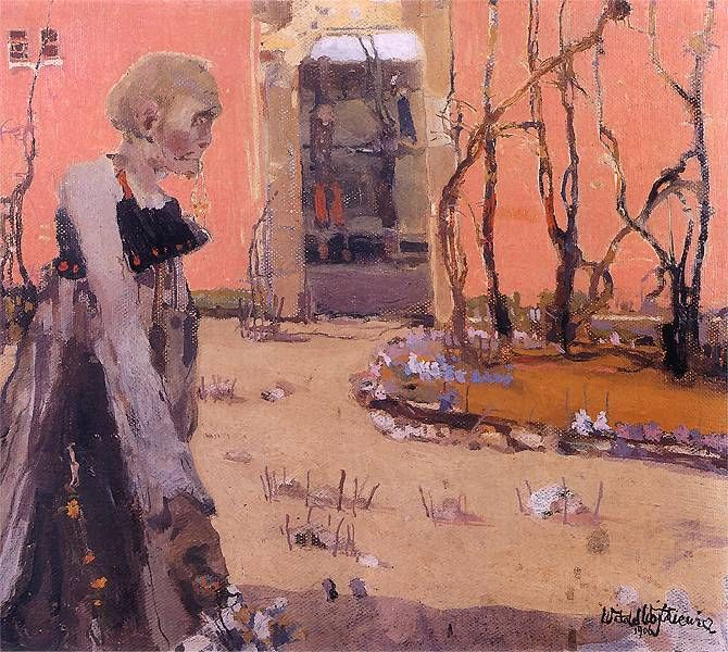 Fantazja.  1906. Olej na płótnie. 35,5 x 41 cm.  Muzeum Narodowe, Kraków.    http://www.pinakoteka.zascianek.pl/Wojtkiewicz/Images/Fantazja.jpg