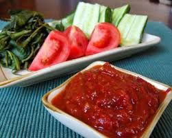Cara Membuat Sambal Goreng Tomat Pedas Nikmat
